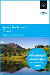 A case study of Oxygen Finance's work with Cumbria County Council
